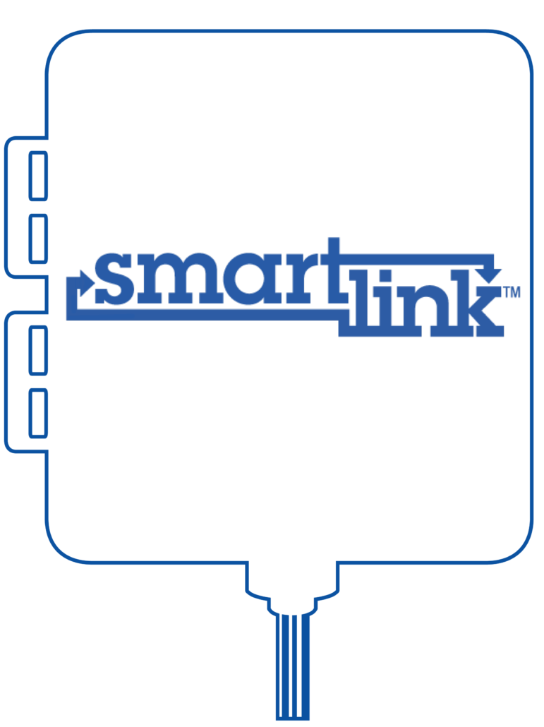 Blue SmartLink unit outline