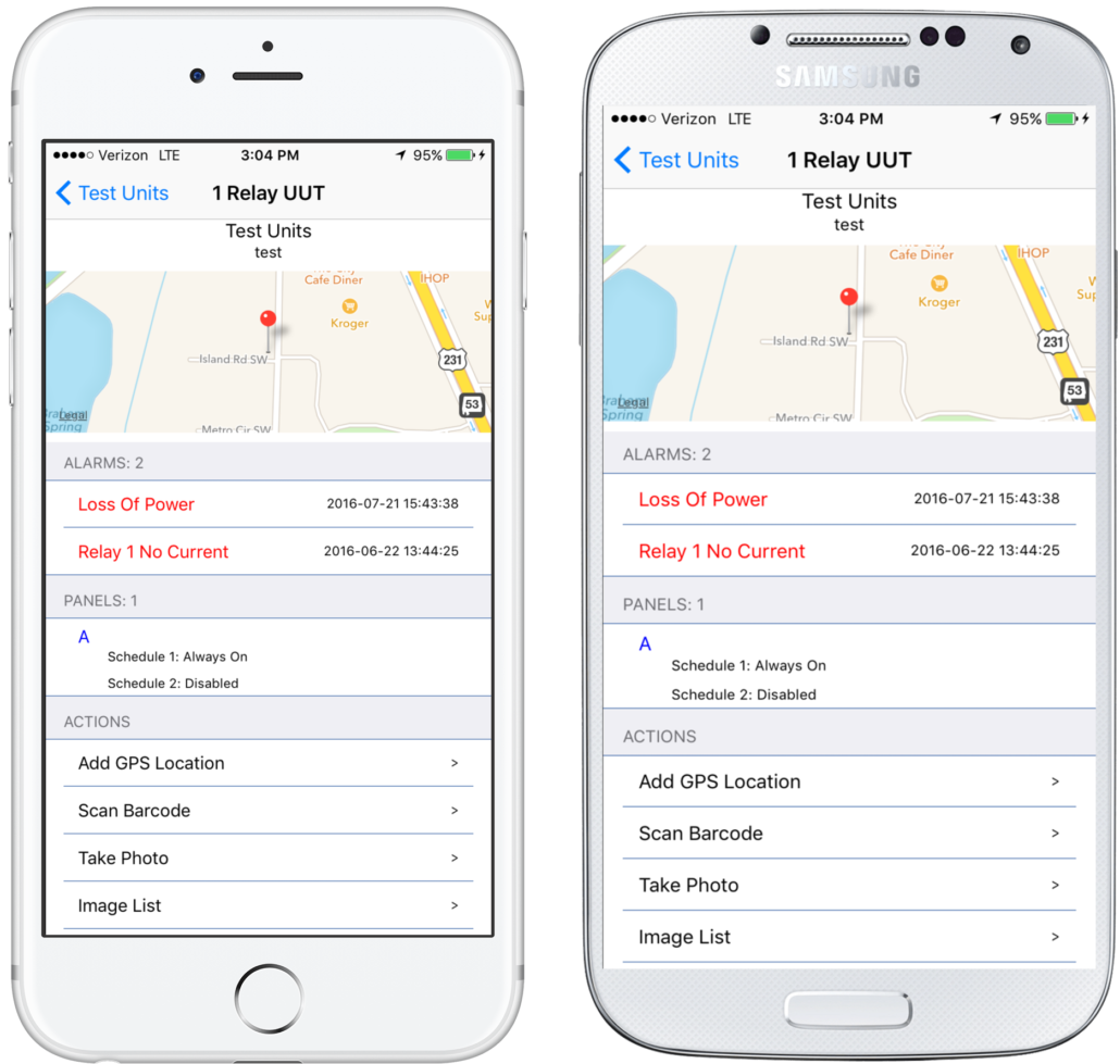 Smartlink app remote control
